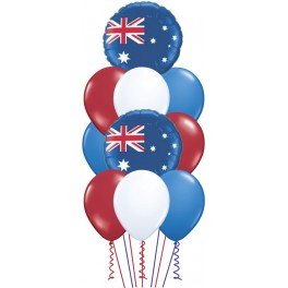 Aussie Flag Balloon Bouquet