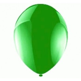 Apple Green Balloons (12 Pack) With Ribbon
