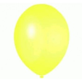 Lemon Balloons (12 Pack) With Ribbon