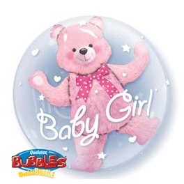 Baby Bear Pink Double Bubble