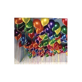 100 Free Floating Ceiling Balloons