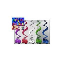 Hanging Curls - 50 Multi colour