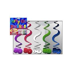 Hanging Curls - 80 Multi colour