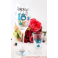 18th Champagne & Shot Glass Set - Blue Star