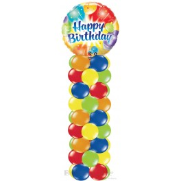 "18"" Foil Balloon Column"