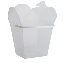 Medium Party Food Pails (White)