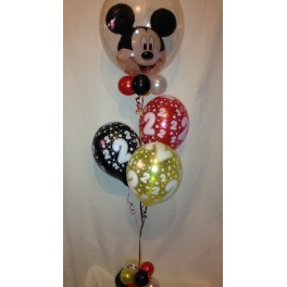 Mickey Mouse Bubble Arrangment