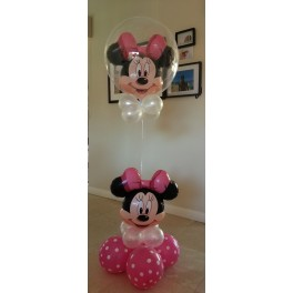 Minnie Mouse Bubble Arrangment