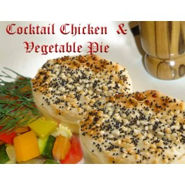 Chicken Cocktail Pies (12 Pack)