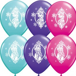 Frozen  Print  Latex Balloon