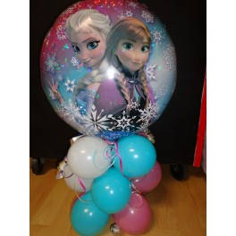 "Frozen 18"" Foil  Balloon Table centerpiece"
