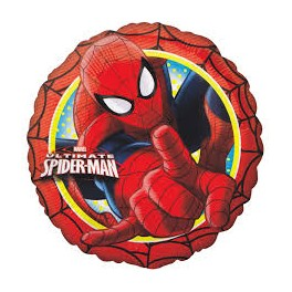 "Spiderman 18""fiol Balloon"