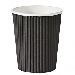 Rippled Paper Coffee cups  20pk