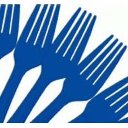 Blue Forks (25 Pack)