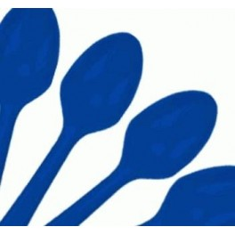 Blue Spoons (25 Pack)