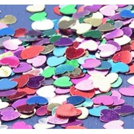 Multi Colour Heart Scatters