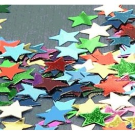 Multi Colour Star Scatters