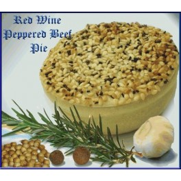 Peppered Beef And Mushroom Pies (12 Pack)