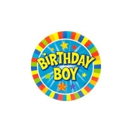 Birthday Boy Badge (Large)
