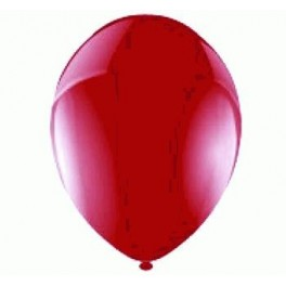Burgundy Balloon Latex (Inflated)