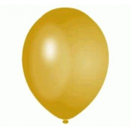 Gold Balloon Latex (Inflated)