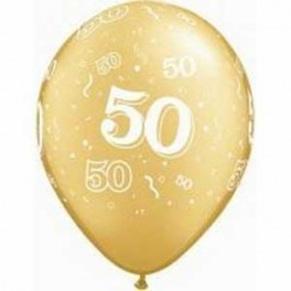 50th Anniversary Print Latex (Inflated)